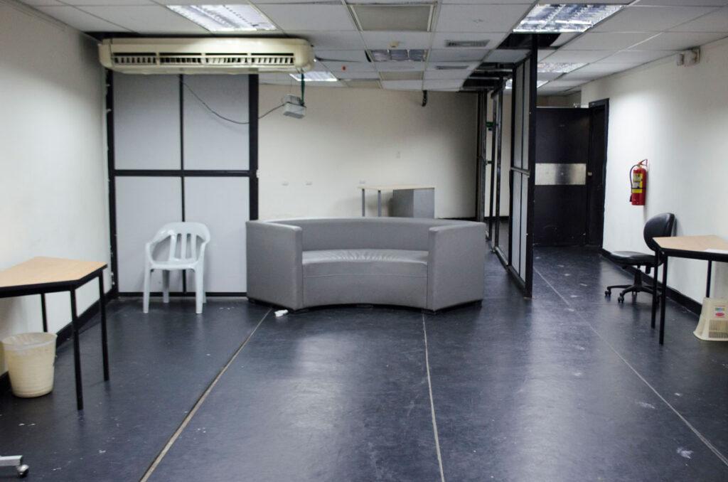 Edificio Centro Cívico: Bodega de las escuelas de Sonido y Artes escénicas
