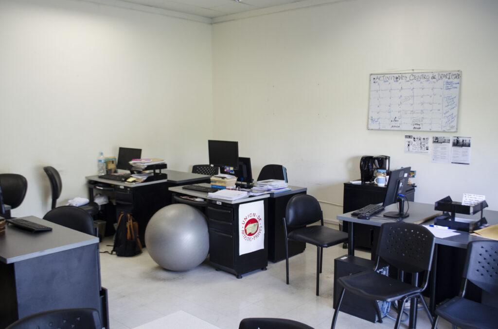 Edificio Principal del ITAE: Sala de docentes de Artes escénicas