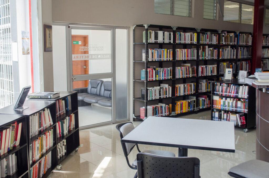 Edificio Principal del ITAE: Biblioteca